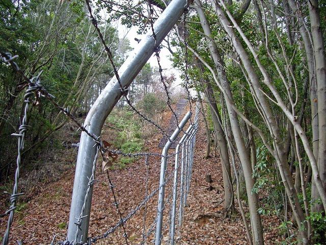 川上弾薬庫をとり巻く広大な領域のフェンス: アルキニスト一平の ...